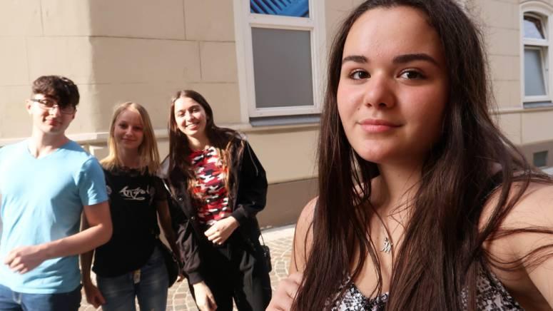 Lehrlinge in der Stadt