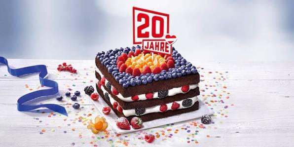 20 Jahre Lidl Österreich Torte